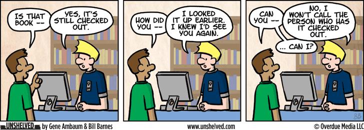 Unshelved comic strip for 9/14/2015