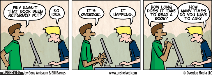 Unshelved comic strip for 9/16/2015