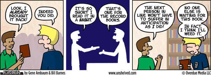 Unshelved comic strip for 9/17/2015