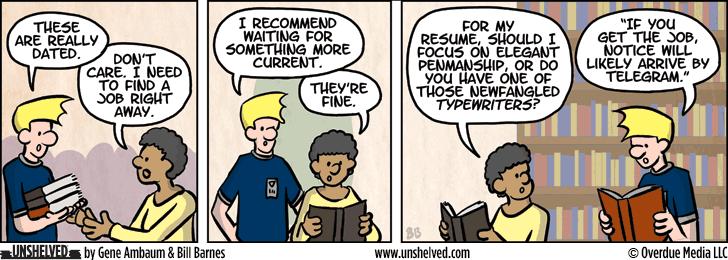 Unshelved comic strip for 9/21/2015