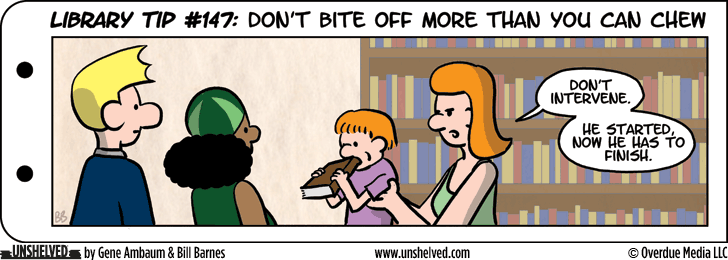 Unshelved comic strip for 9/24/2015