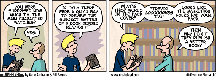 Unshelved comic strip for 9/29/2015