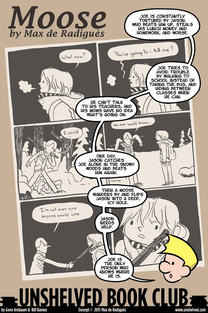 Unshelved comic strip for 10/9/2015
