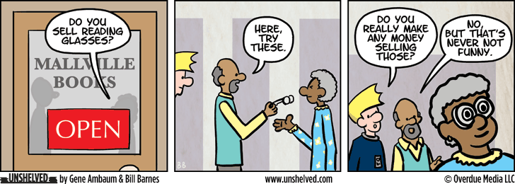 Unshelved comic strip for 10/12/2015