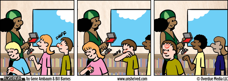 Unshelved comic strip for 10/13/2015