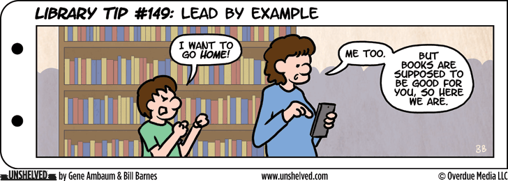 Unshelved comic strip for 10/15/2015