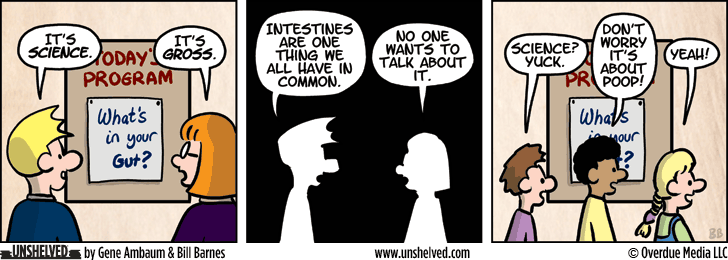 Unshelved comic strip for 10/19/2015
