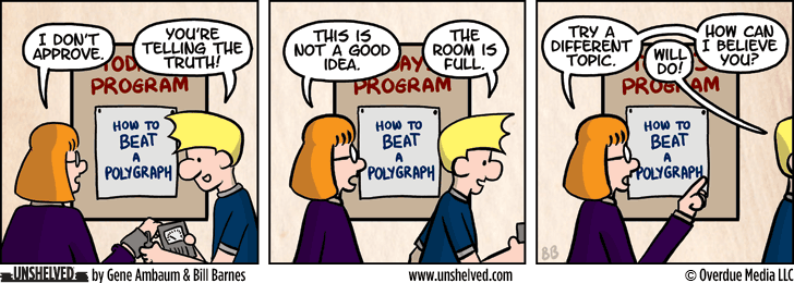 Unshelved comic strip for 10/20/2015