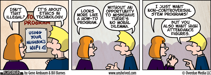 Unshelved comic strip for 10/21/2015