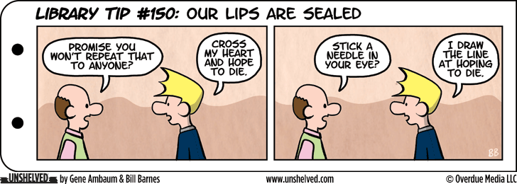 Unshelved comic strip for 10/26/2015
