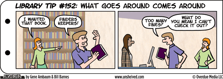 Unshelved comic strip for 10/29/2015
