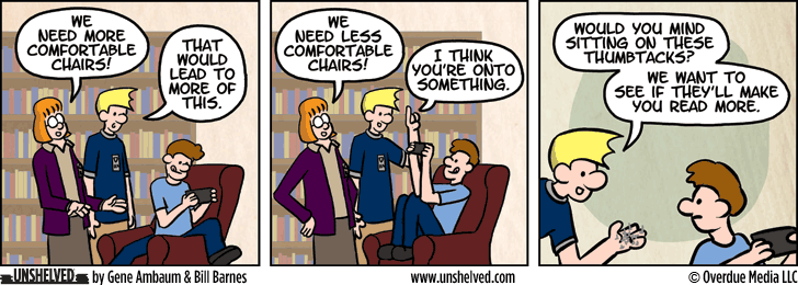 Unshelved comic strip for 11/4/2015