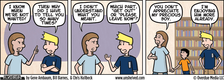 Unshelved comic strip for 11/12/2015