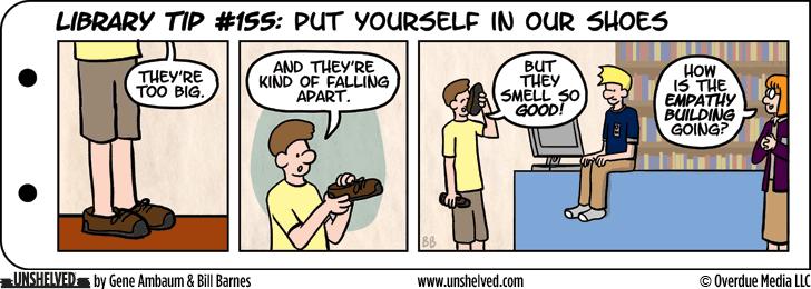 Unshelved comic strip for 11/17/2015