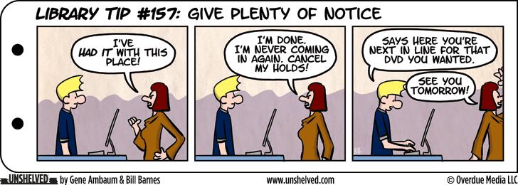 Unshelved comic strip for 11/23/2015