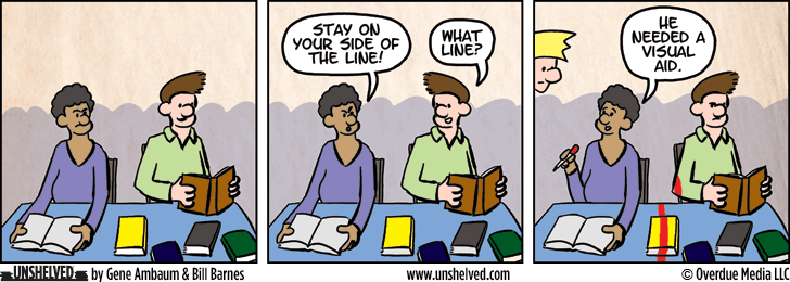 Unshelved comic strip for 11/24/2015