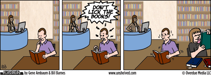 Unshelved comic strip for 11/25/2015