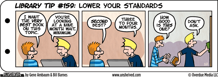 Unshelved comic strip for 12/1/2015