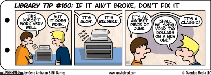 Unshelved comic strip for 12/3/2015