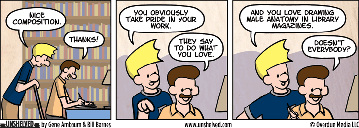 Unshelved comic strip for 12/15/2015