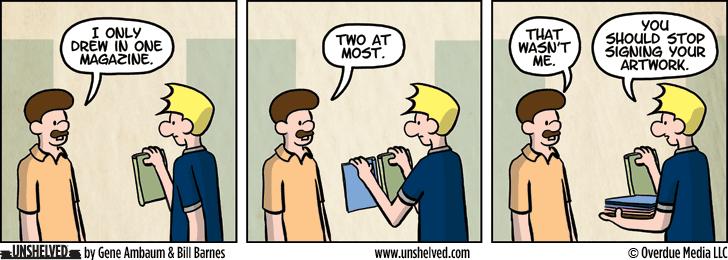 Unshelved comic strip for 12/16/2015
