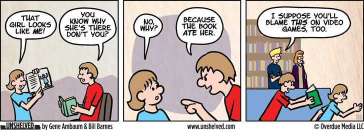 Unshelved comic strip for 12/21/2015
