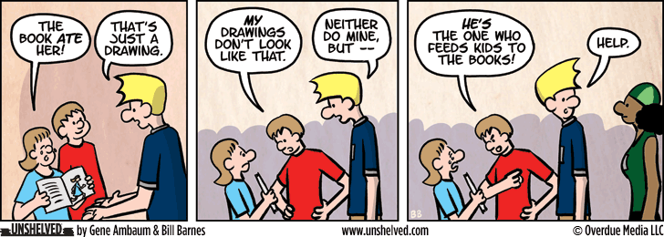 Unshelved comic strip for 12/22/2015