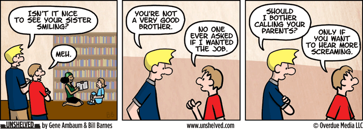 Unshelved comic strip for 12/23/2015