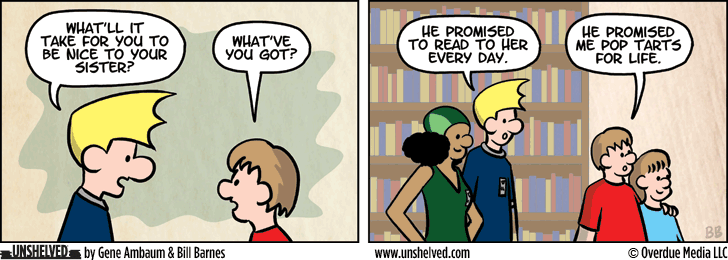 Unshelved comic strip for 12/24/2015