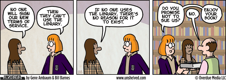 Unshelved comic strip for 12/31/2015