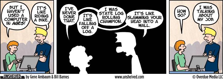 Unshelved comic strip for 1/6/2016