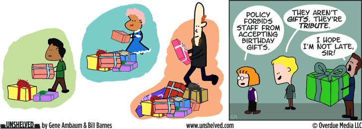 Unshelved comic strip for 1/13/2016