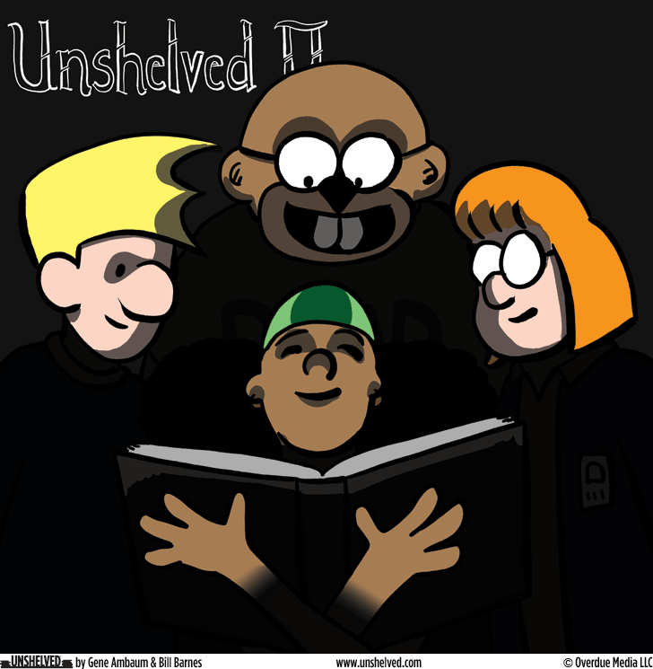 Unshelved comic strip for 1/20/2016