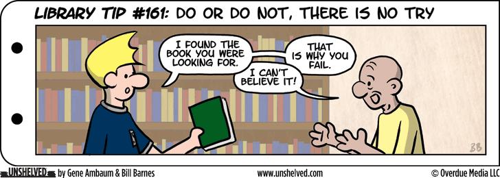 Unshelved comic strip for 1/25/2016