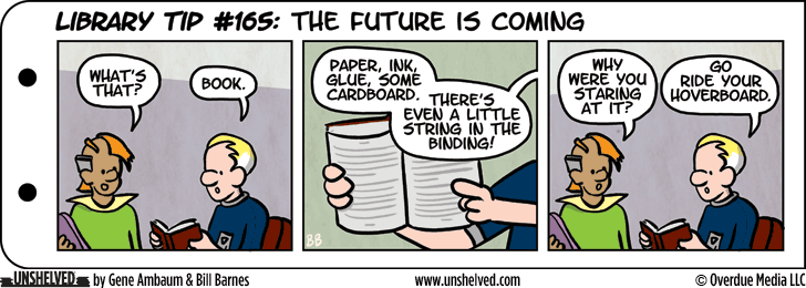 Unshelved comic strip for 2/3/2016