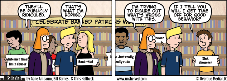 Unshelved comic strip for 2/16/2016