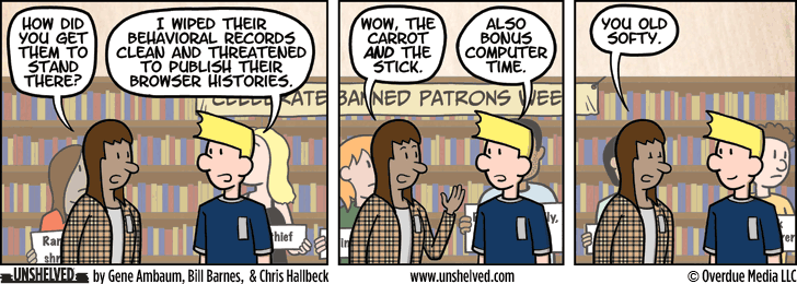 Unshelved comic strip for 2/18/2016