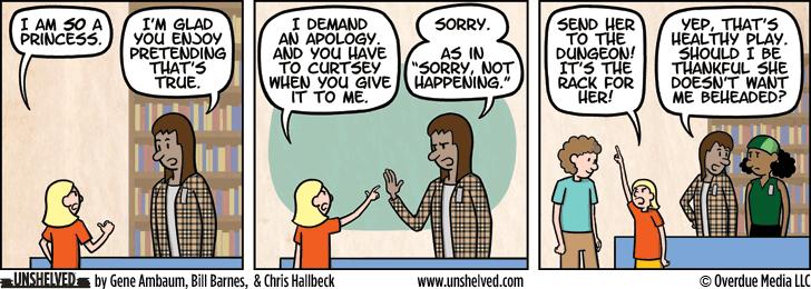 Unshelved comic strip for 2/24/2016