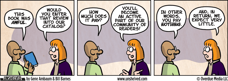 Unshelved comic strip for 2/25/2016