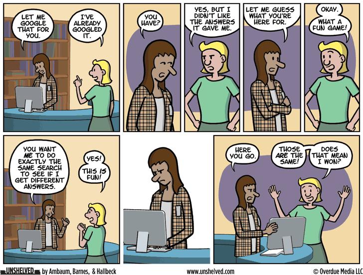 Unshelved comic strip for 2/29/2016