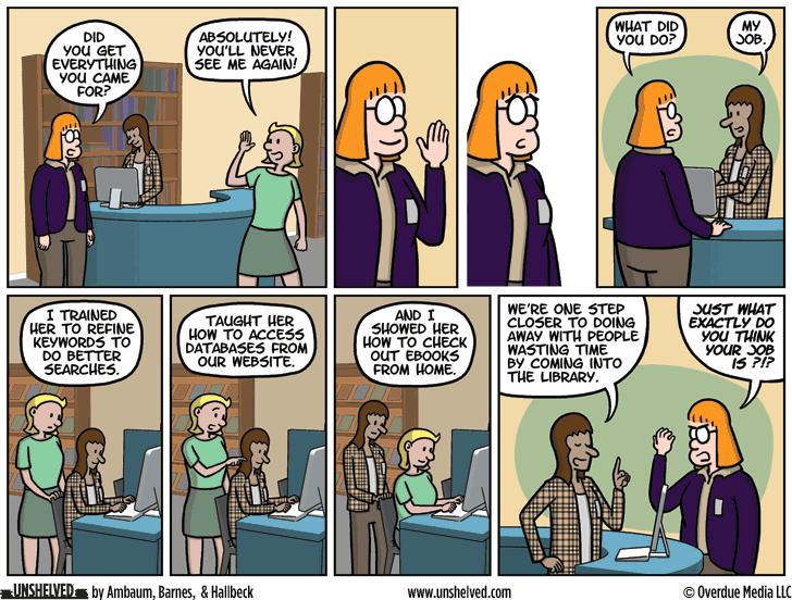 Unshelved comic strip for 3/1/2016