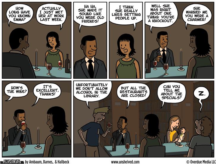 Unshelved comic strip for 3/22/2016