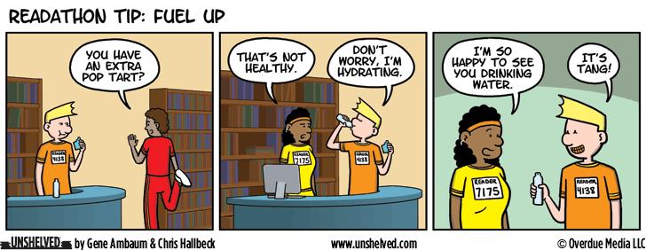 Unshelved comic strip for 5/9/2016