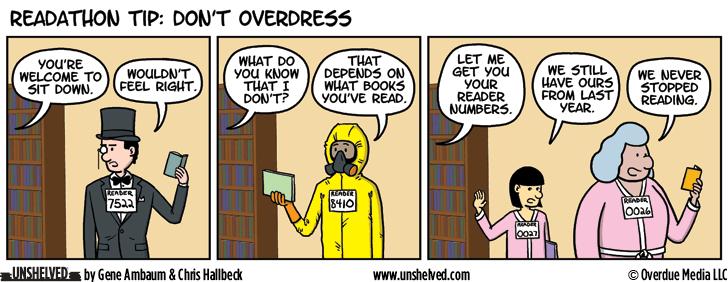 Unshelved comic strip for 5/11/2016