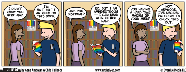 Unshelved comic strip for 5/16/2016