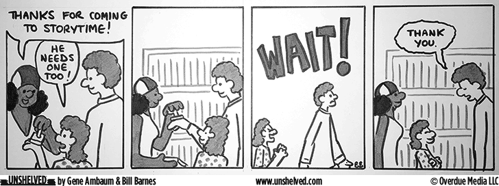 Unshelved comic strip for 5/25/2016