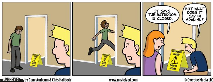 Unshelved comic strip for 5/30/2016