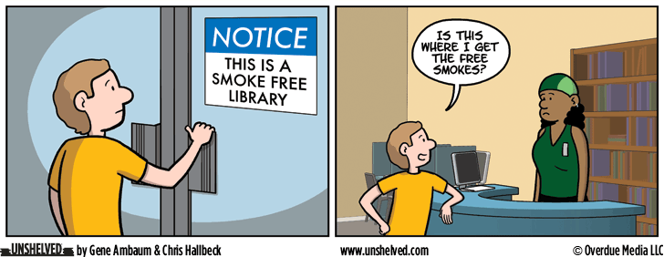 Unshelved comic strip for 6/7/2016