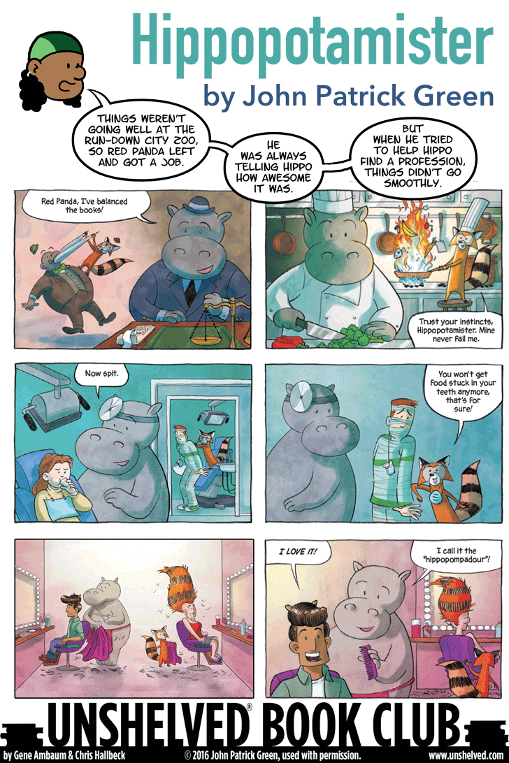 Unshelved comic strip for 6/10/2016