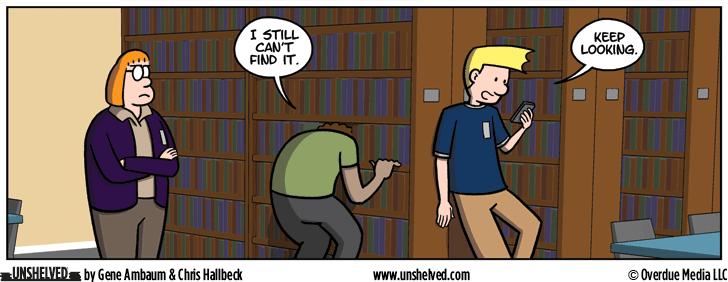 Unshelved comic strip for 6/20/2016